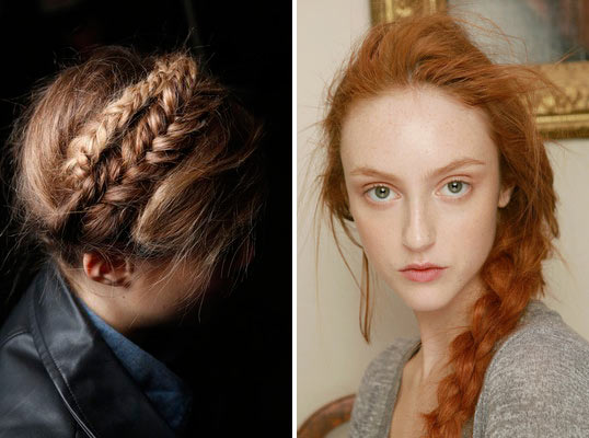 Spring/Summer 2014 Hairstyle Trends from Fashion Week