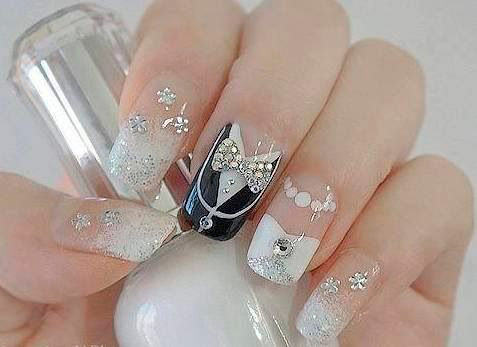 Top 50 Most Stunning Wedding Nail Art Designs
