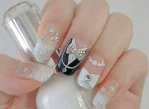 Top 50 Most Stunning Wedding Nail ArtDesigns