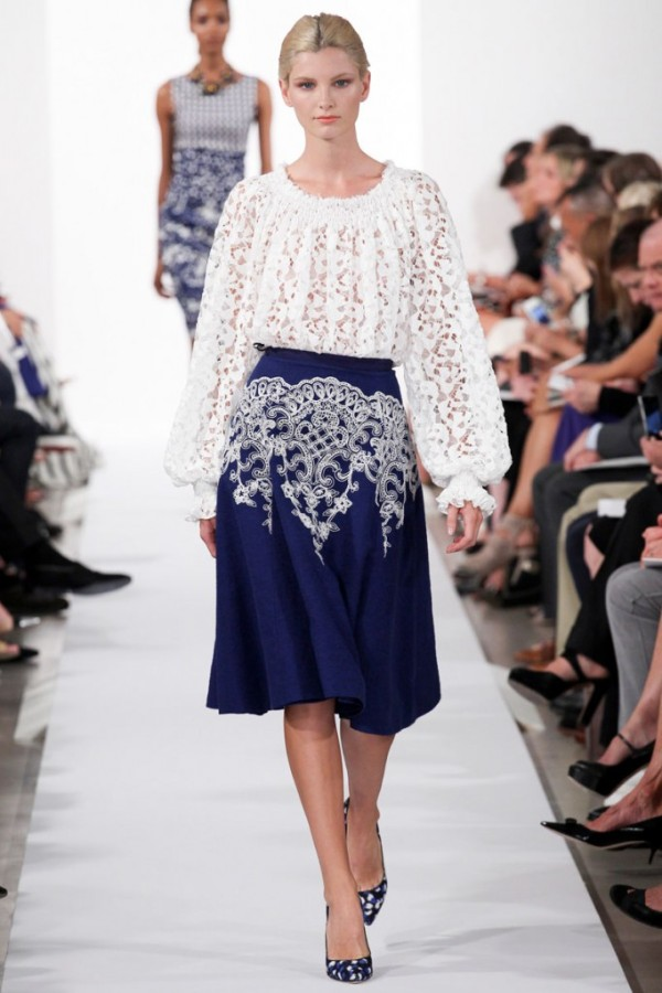 Oscar de la Renta Spring 2014 RTW Collection
